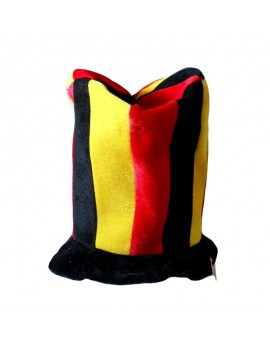 Chapeau supporter belge cylindre