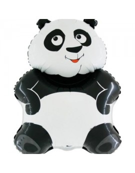 Ballon aluminium panda