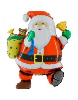 Ballon aluminium père Noel