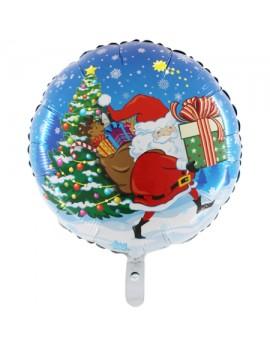 Ballon alu Père Noel