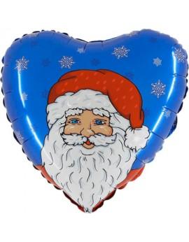 Ballon aluminium de père Noel