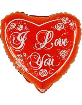 Ballon aluminium i love you