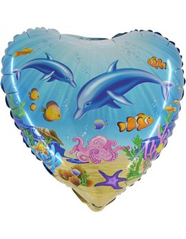 Ballon aluminium dauphin