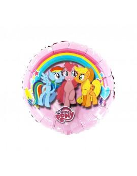 Ballon aluminium little poney