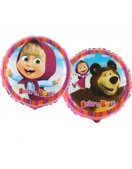 Ballon aluminium Masha bear