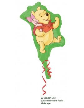 Ballon tige Winnie l'ourson